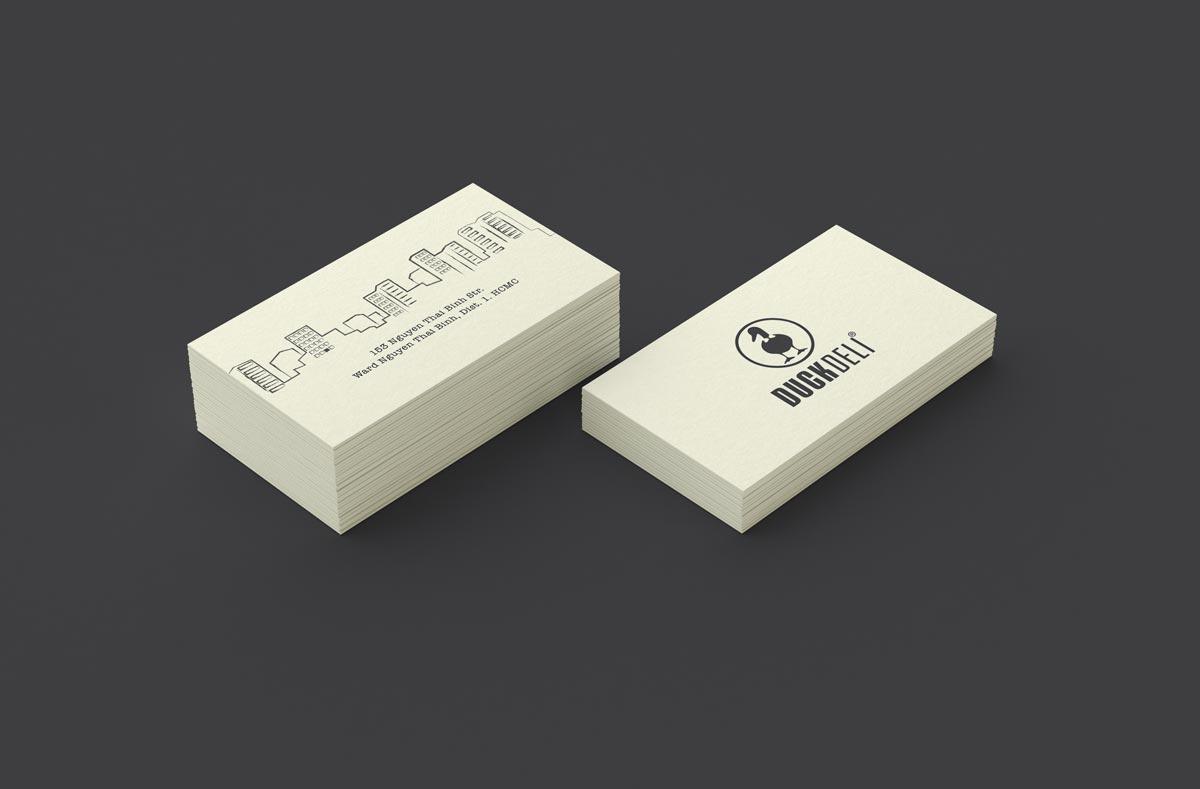 Duckdeli business card