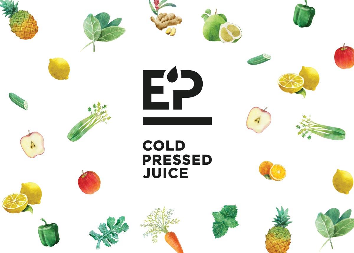 EP Pressed Juice logo