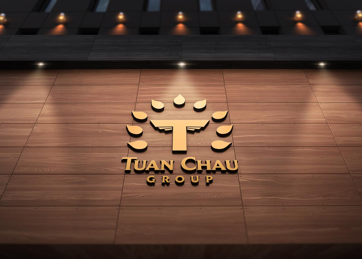 Tuan Chau Group branding logo detail 1