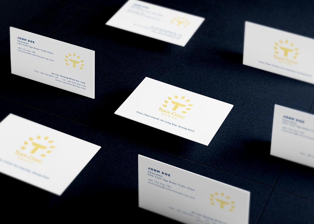 Tuan Chau Group Name Card