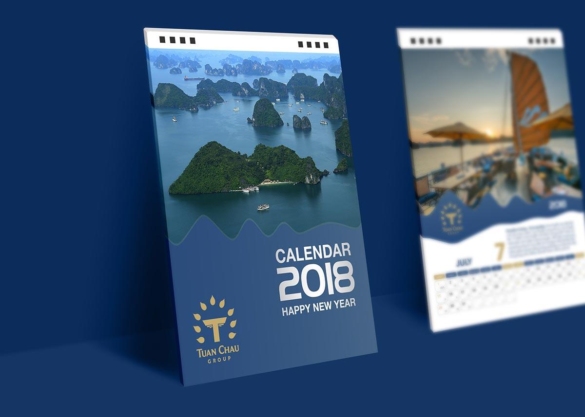Tuan Chau Group Calendar 2018